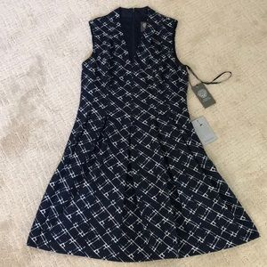 Vince Camuto Navy dress with pockets